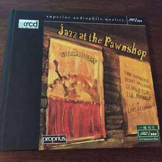 Audiophile Jazz at the pawnshops xrcd made in Japan