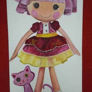 Lalaloopsy Backdrop