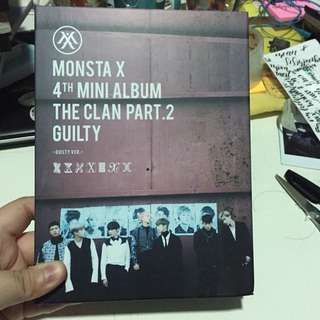 MONSTA X THE CLAN PART 2 GUILTY UNSEALED ALBUM