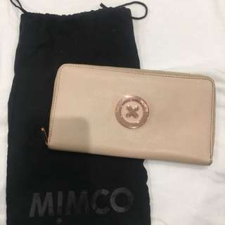 Mimco pink Travel Wallet