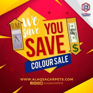 We Save You Save Colour Sale !!