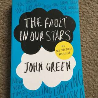 The fault in our stars - By John green