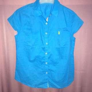 Blue shirt / kemeja biru