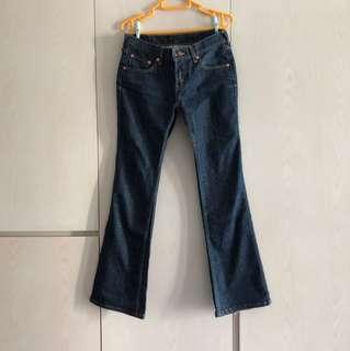 Levis 578 boot cut jeans 靴型牛仔褲