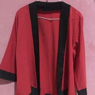 Kimono maroon
