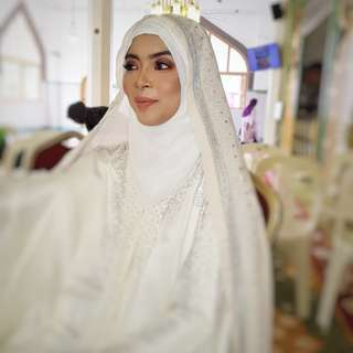 Solemnisation / Nikah Makeup by Lulu Ijni