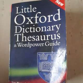 English Oxford Dictionary