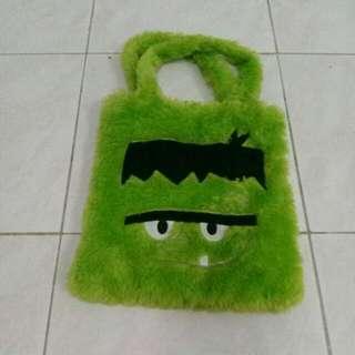Monster Green bag