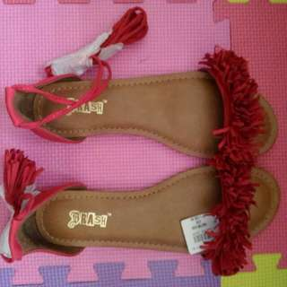 Brash from payless red sandals sz 7