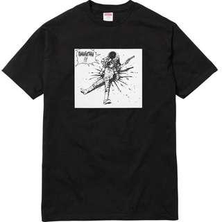 Supreme Akira Yamagata Tee Black L