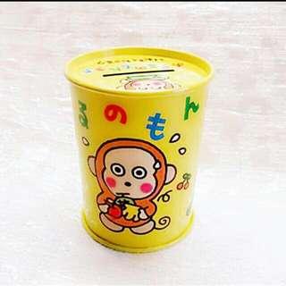Sanrio 1996 絕版罕有 Monkichi 馬騮仔 Coin Bank 擺設