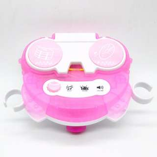 Hello Kitty adjustable stand with 2 microphone