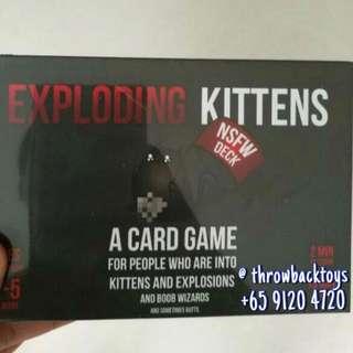 Exploding Kitten (Red/black)