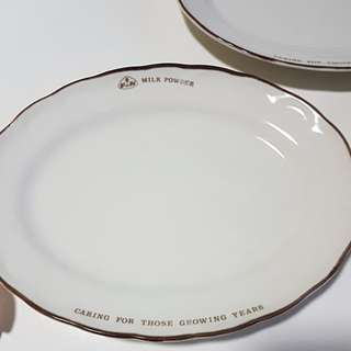 F&N Milk powder ceramic plates