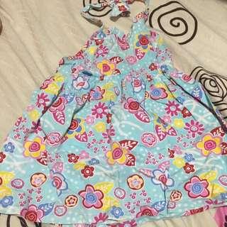 Preloved backless dress 18 months