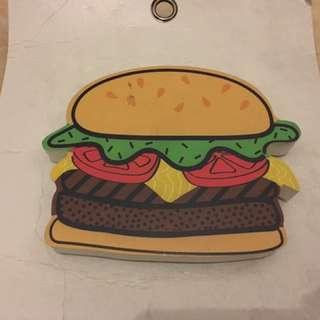 Wooden Wall design - Burger