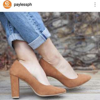Payless Block heels size 7-in excellent condition