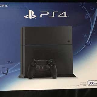 Sony PS4 CUH-1206A B01 Jet Black 極致黑 500G