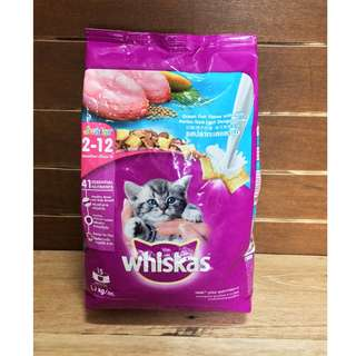 Whiskas Junior Ocean Fish Flavor with Milk Cat Food 1.1 kilogram