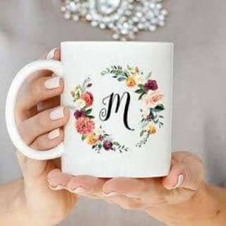 Customized Floral Mugs