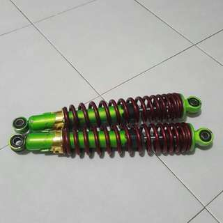 Ebike suspension