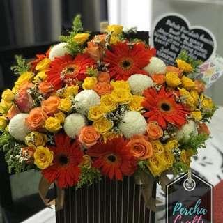 Floral bouquet Surprise Delivery by Perchacrafts