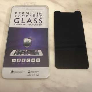 Apple iPhone X 防偷窺鋼化玻璃貼