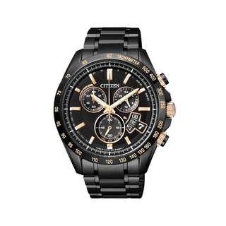 CITIZEN 五局電波光動能BY0135-57E男腕錶