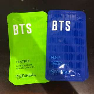 Bts mediheal hydrating mask full set