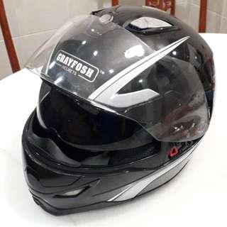 Helmet full face flip on Grayfosh -XL