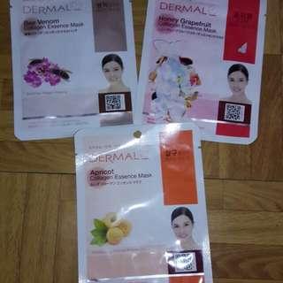 dermal collagen face mask..original