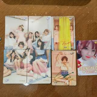 Yescard twice連圖/彩簽/夜光