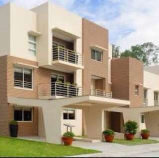 townhouse for lease ametta place pasig