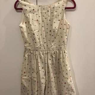 Cotton dress size 6/S