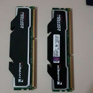 2x4GB RAM HyperX limited edition