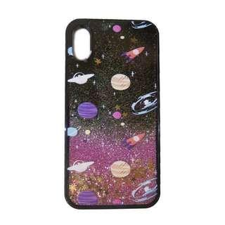 IPhoneX, Iphone7 case 粉紅星空手機殻 電話殻