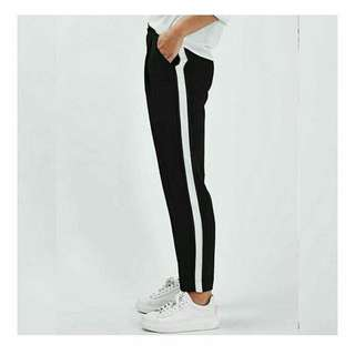 Zara stripe hitam NEW