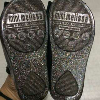 Authentic Mini Melissa Bow Black
