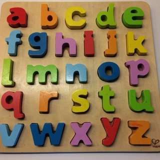 IImported HAPE Kids Learning Alphabets