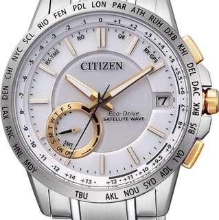 CITIZEN CC3006-58A 光動能 衛星對時腕錶