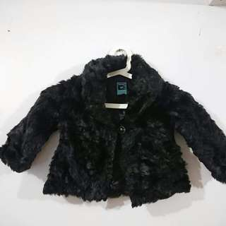Old Navy Faux Fur Coat for Baby