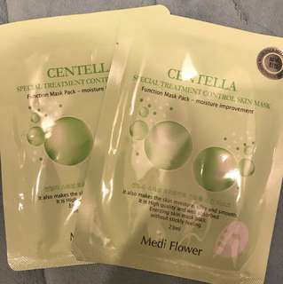 Mediflower cents special treatment Mask 2pcs