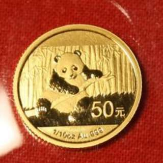 1oz Gold China Panda 2014 (OMP)