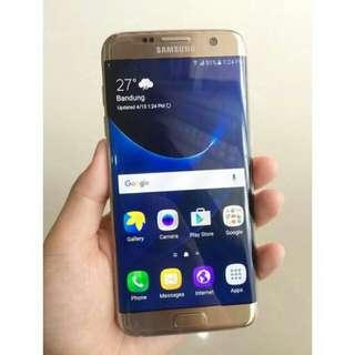 FLASHSALE!!! CUCI GUDANG!! Samsung Galaxy S7 Edge Single SIM Second Mulus FREE Ongkir