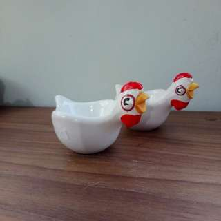Soft boiled egg cup