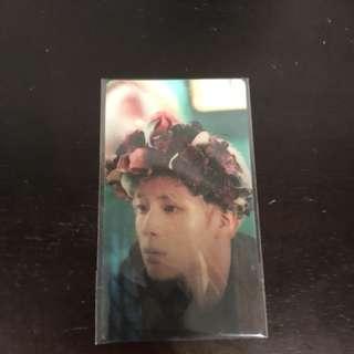 Bts Jin lenticular card
