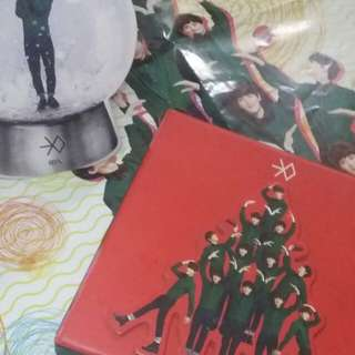 3 EXO Preloved Album - Miracle in December , Overdose , Mama
