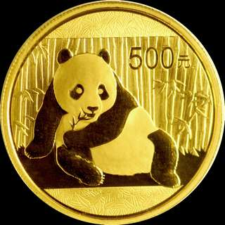 1oz Gold China Panda 2015 (OMP)