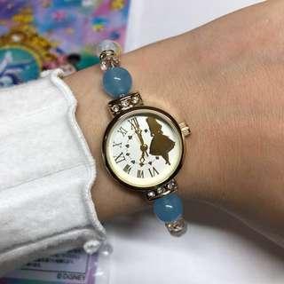 日本Disney Alice愛麗絲 手鏈/手錶