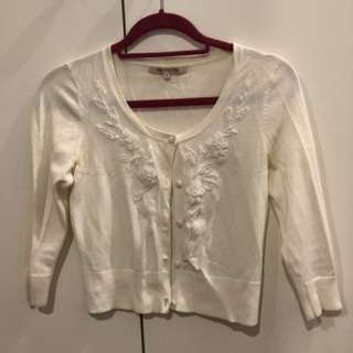 Review cardigan size 8